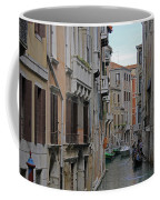 Gondolas On Backstreet Canal Coffee Mug