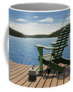 Gone Fishing Aka Fishing Chair Coffee Mug