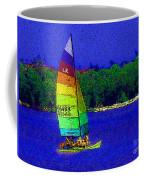 Gone For A Sail Coffee Mug