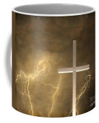 Good Friday In Sepia Texture Coffee Mug