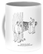 Good God!  He's Giving The White-collar Voters' Coffee Mug