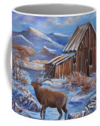 Good Morning Elk Coffee Mug