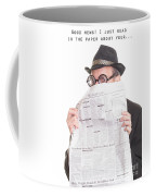 Good News Coffee Mug by Edward Fielding