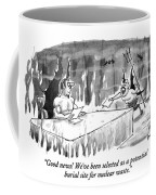 Good News! We've Been Selected As A Potential Coffee Mug