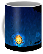 Good Night Sun Coffee Mug by Gianfranco Weiss