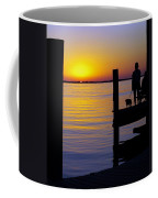 Goodnight Sun Coffee Mug by Karen Wiles