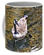Goose In The Water Coffee Mug