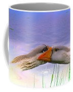 Goose Kiss - Featured In Comfortable Art - Nature Wildlife - Wildlife Groups Coffee Mug