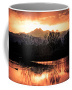 Goose On Golden Ponds 1 Coffee Mug