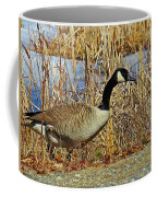 Goose On The Edge Coffee Mug