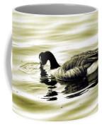 Goose Reflecting In The Water Coffee Mug