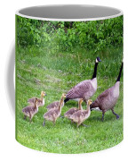 Goose Step Coffee Mug by Will Borden