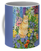 Gordon S Cat Coffee Mug by Hilary Jones