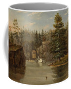Gorge Of The St Croix Coffee Mug by Henry Lewis