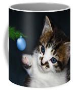 Gorgeous Christmas Kitten Coffee Mug