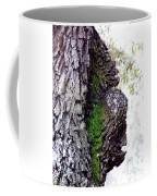 Gorilla Face In The Tree Coffee Mug