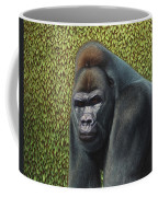 Gorilla With A Hedge Coffee Mug by James W Johnson