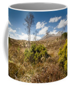 Gorse Bush On Mountain Approach Coffee Mug