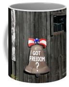 Got Freedom Coffee Mug