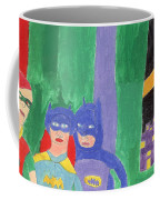 Gotham Heroes  Coffee Mug by Don Larison