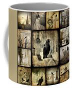 Gothic And Crows Coffee Mug