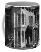 Gothic House Black And White Coffee Mug