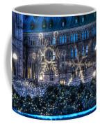 Gothic Snowflakes Coffee Mug
