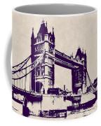 Gothic Victorian Tower Bridge - London Coffee Mug