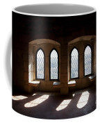 Gothic Windows Of The Royal Residence In The Leiria Castle Coffee Mug