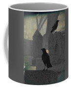 Gothic Winter Blackbirds Coffee Mug