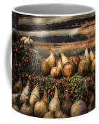 Gourds Coffee Mug by Debra and Dave Vanderlaan