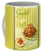 Gourmet Cover Featuring A Plate Of Beignets Coffee Mug