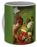 Gourmet Cover Featuring A Variety Of Vegetables Coffee Mug
