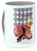 Gourmet Cover Featuring Bread Coffee Mug