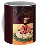 Gourmet Cover Illustration Of A Filet Of Sole Coffee Mug