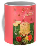 Gourmet Cover Illustration Of A Molded Rice Coffee Mug