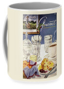 Gourmet Cover Illustration Of Cranberry Muffins Coffee Mug
