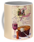 Gourmet Cover Illustration Of Deep Dish Pie Coffee Mug