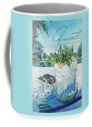 Gourmet Cover Illustration Of Mint Julep Packed Coffee Mug