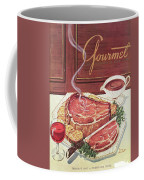 Gourmet Cover Of A Roast Beef Coffee Mug