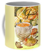 Gourmet Cover Of Pumpkin Soup Coffee Mug