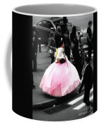 Gown Of Pink Coffee Mug