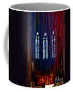 Grace Cathedral With Ribbons Coffee Mug