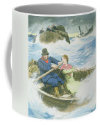 Grace Darling And Her Father Rescuing Coffee Mug