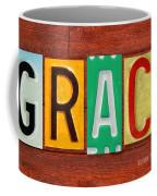 Grace License Plate Name Sign Fun Kid Room Decor. Coffee Mug