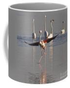Graceful Flamingo Dance Coffee Mug