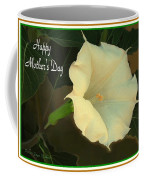 Graceful Moonflower - Happy Mother's Day Coffee Mug