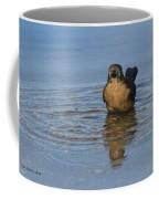 Grackle Bathing Coffee Mug