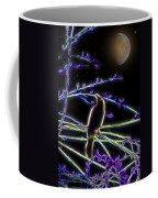 Grackle In The Willow Tree Coffee Mug