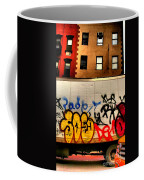 Graffit With Taxi Coffee Mug
